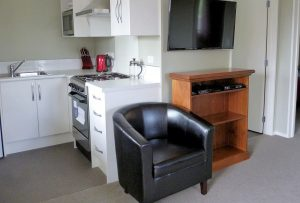 Kitchen facility at Rosedale Cottages