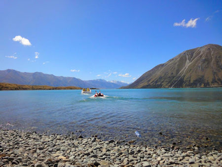 Lake Ohau boating